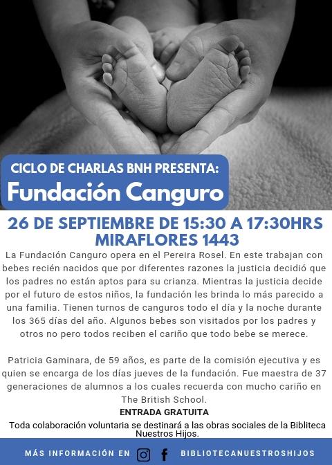 charla Fundación canguro