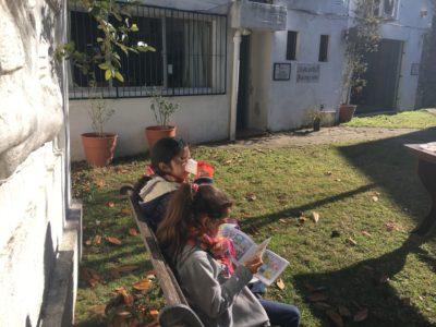 """Actividades con los chicos de la ONG """"La pascua"""" @ Biblioteca Nuestros Hijos"""