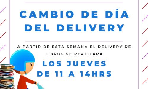 CAMBIO DE DÍA DEL DELIVERY